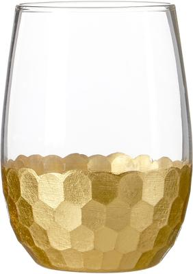 Honeycomb Glass Tumblers - Set of 4