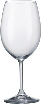 Bohemia Crystal Klara Red Wine Glasses 450ml - Set Of 2