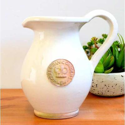 Kew Royal Botanic Gardens Jug - Bone White