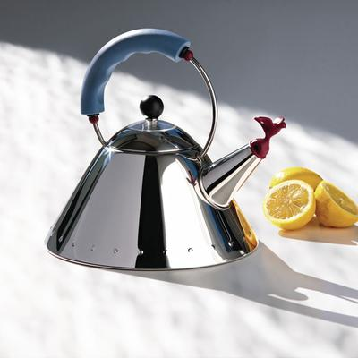 Alessi Bird Kettle in Light Blue image 2