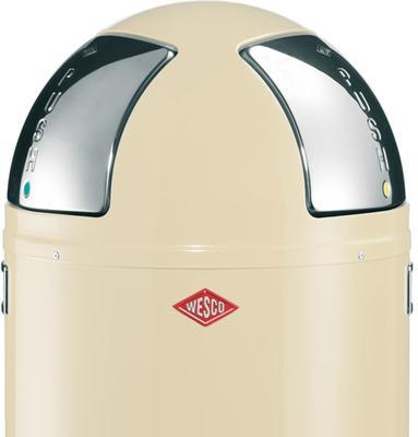 Wesco Push-Two Recycling Bin (Almond) image 2