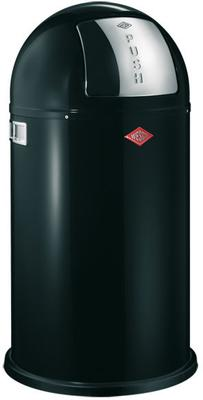 Wesco Pushboy Bin (Black)