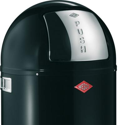 Wesco Pushboy Bin (Black) image 2