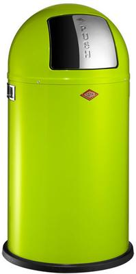 Wesco Pushboy Bin (Lime Green)