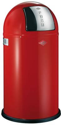 Wesco Pushboy Bin (Red)