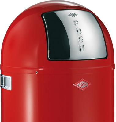 Wesco Pushboy Bin (Red) image 2