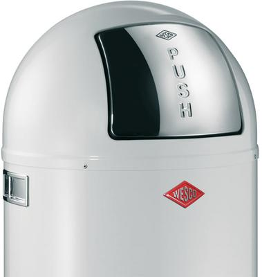 Wesco Pushboy Bin (White) image 2