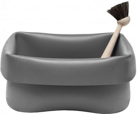 Normann Copenhagen Grey Rubber Washing Up Bowl