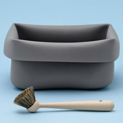 Normann Copenhagen Grey Rubber Washing Up Bowl image 2