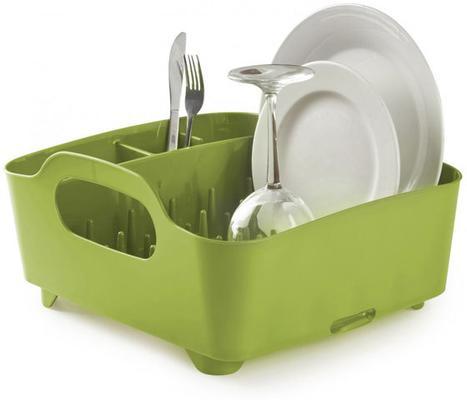 Umbra Tub Dish Rack - Avocado