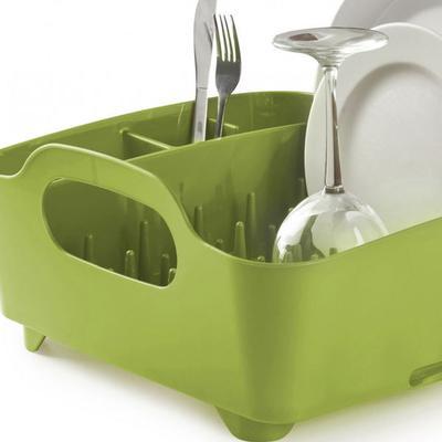 Umbra Tub Dish Rack - Avocado image 2