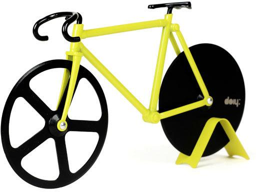 Fixie Pizza Cutter - Bumblebee Bike