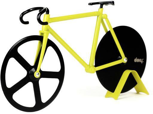 Fixie Pizza Cutter - Bumblebee Bike