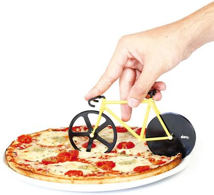 Fixie Pizza Cutter - Bumblebee Bike image 2