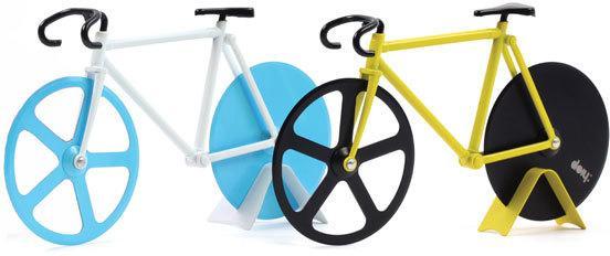 Fixie Pizza Cutter - Bumblebee Bike image 3