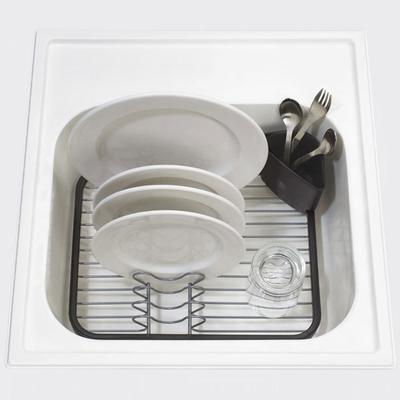 Umbra Sinkin Dish Rack - Smoke image 2