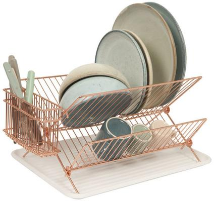 Present Time Copper Wire Dish Rack image 3