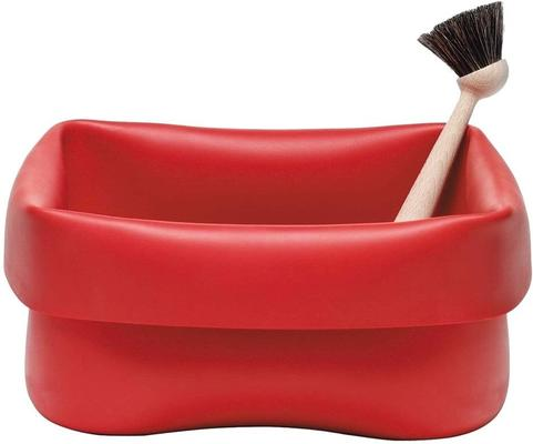 Normann Copenhagen Red Rubber Washing Up Bowl