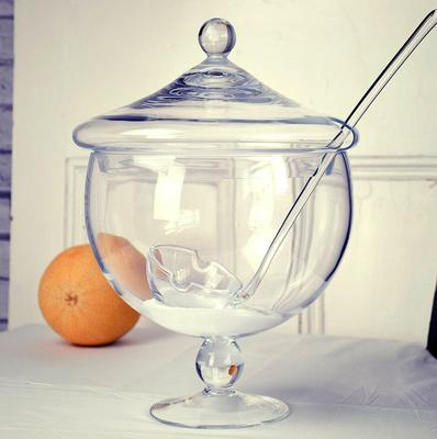 Punch Bowl with Ladle and Stem - 5 litres