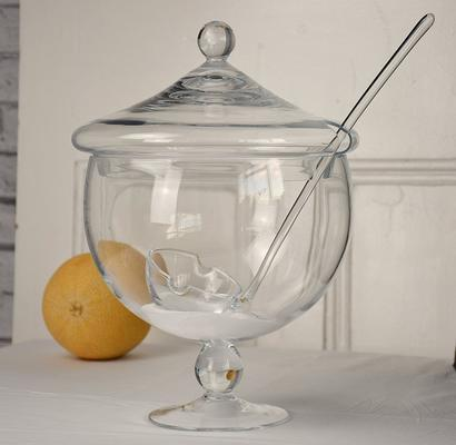 Punch Bowl with Ladle and Stem - 5 litres image 2