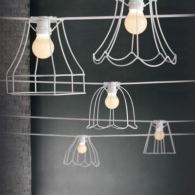 Seletti Wire Frame Bell Lampshade image 4