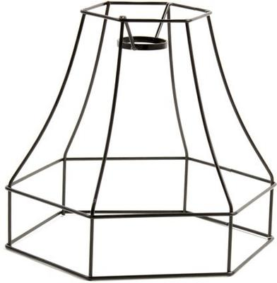 Wire Frame Bell Lampshade image 12
