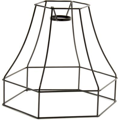 Wire Frame Bell Lampshade image 14