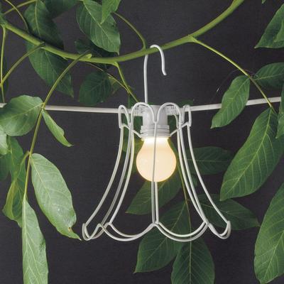 Seletti Wire Frame Tulip Lampshade - White