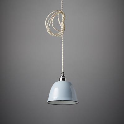 Miniature Bell Enamel Lamp Shade