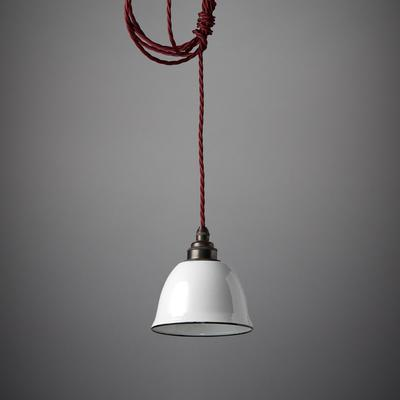 Nostalgia Lights Miniature Bell Enamel Lamp Shade image 3
