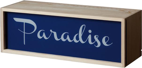 Narrow Light Box Changeable Text