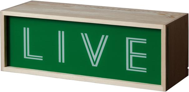 Seletti Narrow Light Box Changeable Text image 4