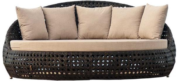 Ollie Ocean Outdoor Daybed Without Roof image 3