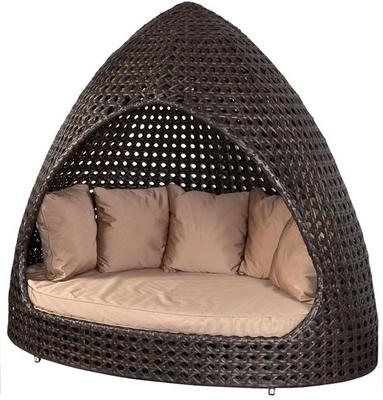 Oriel Ocean Wave Outdoor Relax Hut With Cushion image 3