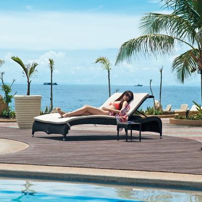 Ottilie Ocean Outdoor Adjustable Stacking Sunbed