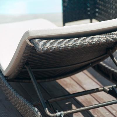 Ottilie Ocean Outdoor Adjustable Stacking Sunbed image 5