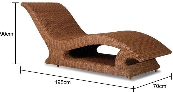 San Marino Raised Sun Lounger image 2
