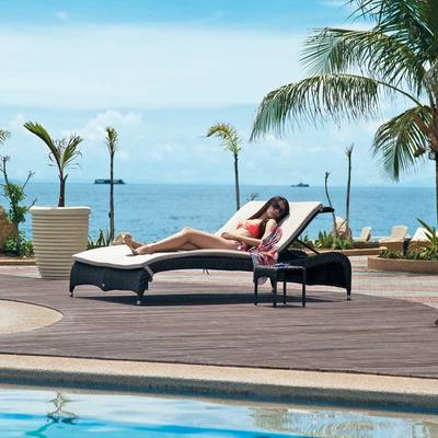 Ocean Fiji Double Sunbed with Tables