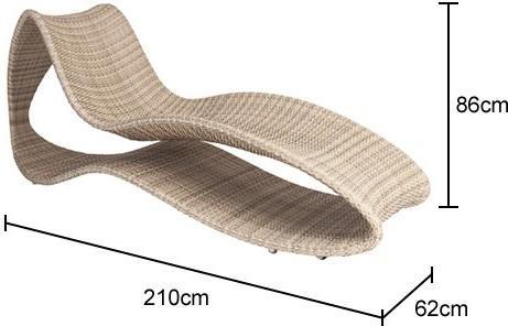 Ocean Surf Designer Sunbed image 2