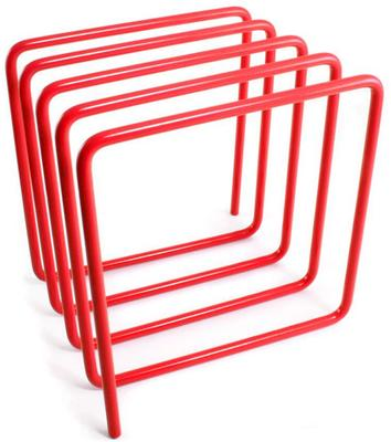Block Magazine Rack - Red image 2
