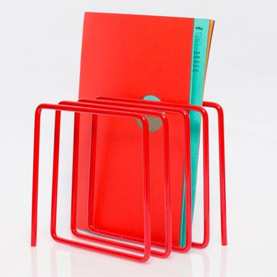 Block Magazine Rack - Red image 3