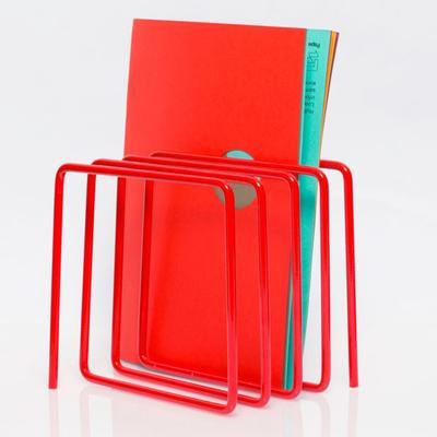 Block Magazine Rack - Red image 3