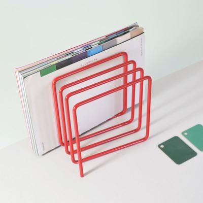 Block Magazine Rack - Red image 4