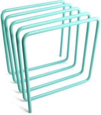Block Magazine Rack - Turquoise image 2