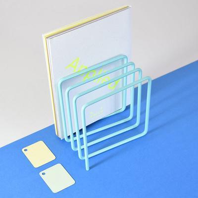 Block Magazine Rack - Turquoise image 3