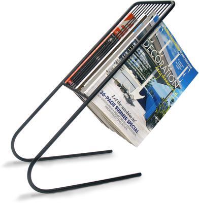 Float Magazine Rack - Black