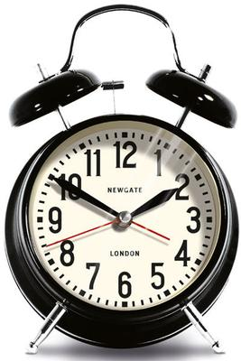 Newgate London Alarm Clock (Black)