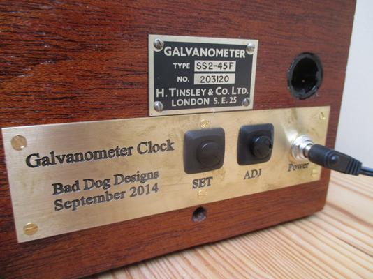 Steampunk Galvanometer Nixie Clock image 4