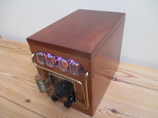 Steampunk Galvanometer Nixie Clock image 6