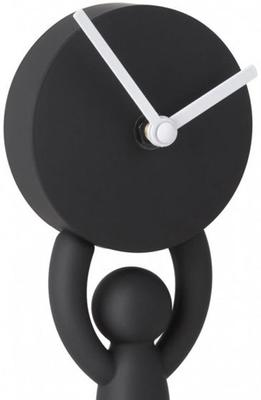 Umbra Buddy Desk Clock - Black image 2
